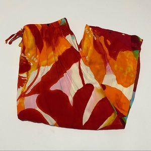 Jams World Cropped Pants Drawstring in Desire L